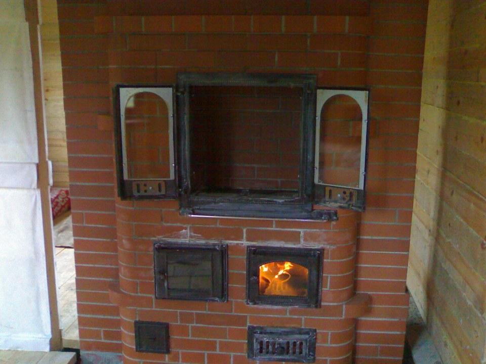 Варочная печь-камин