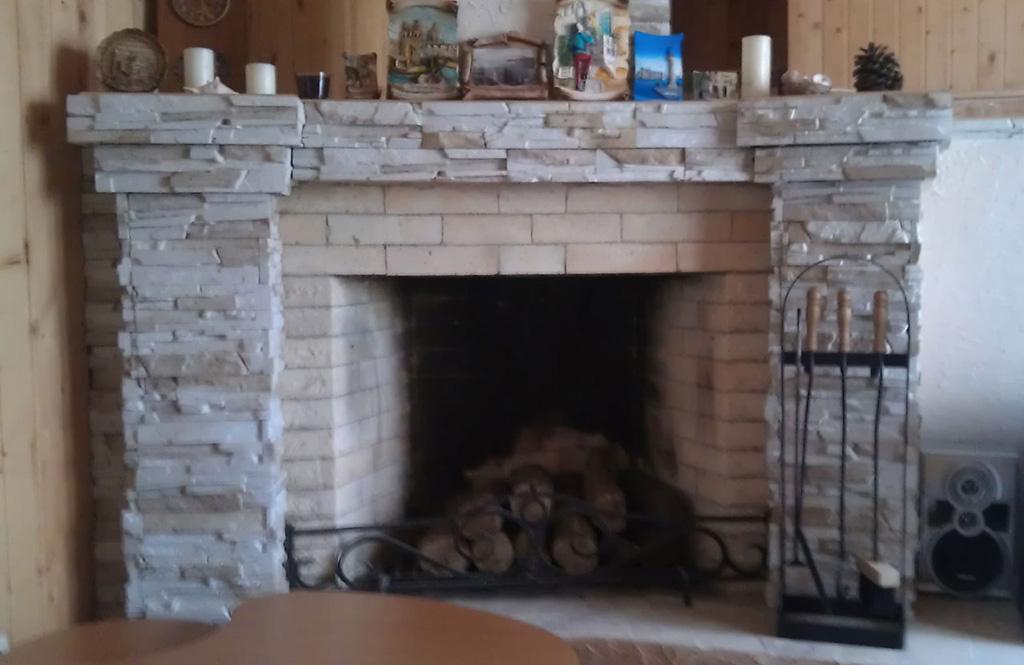 Огнеупорные декоративные панели для отделки печей каминов