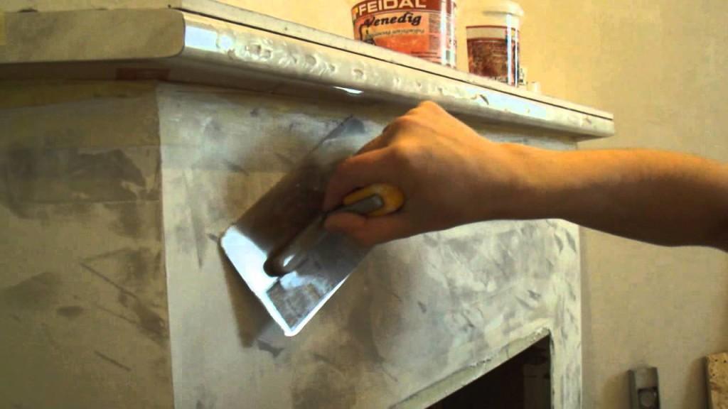 Изготовление венецианской штукатурки своими руками видео
