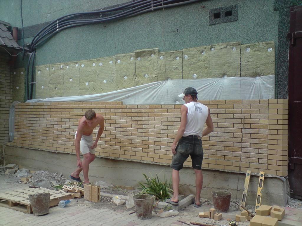 Плитная минвата: фасадный утеплитель под кирпич