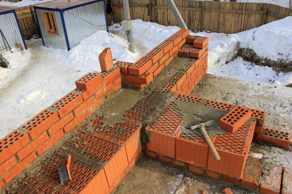 Армировка кладки из керамических блоков
