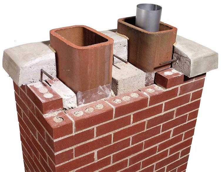 Двухконтурные дымоходы: кирпичные, керамические