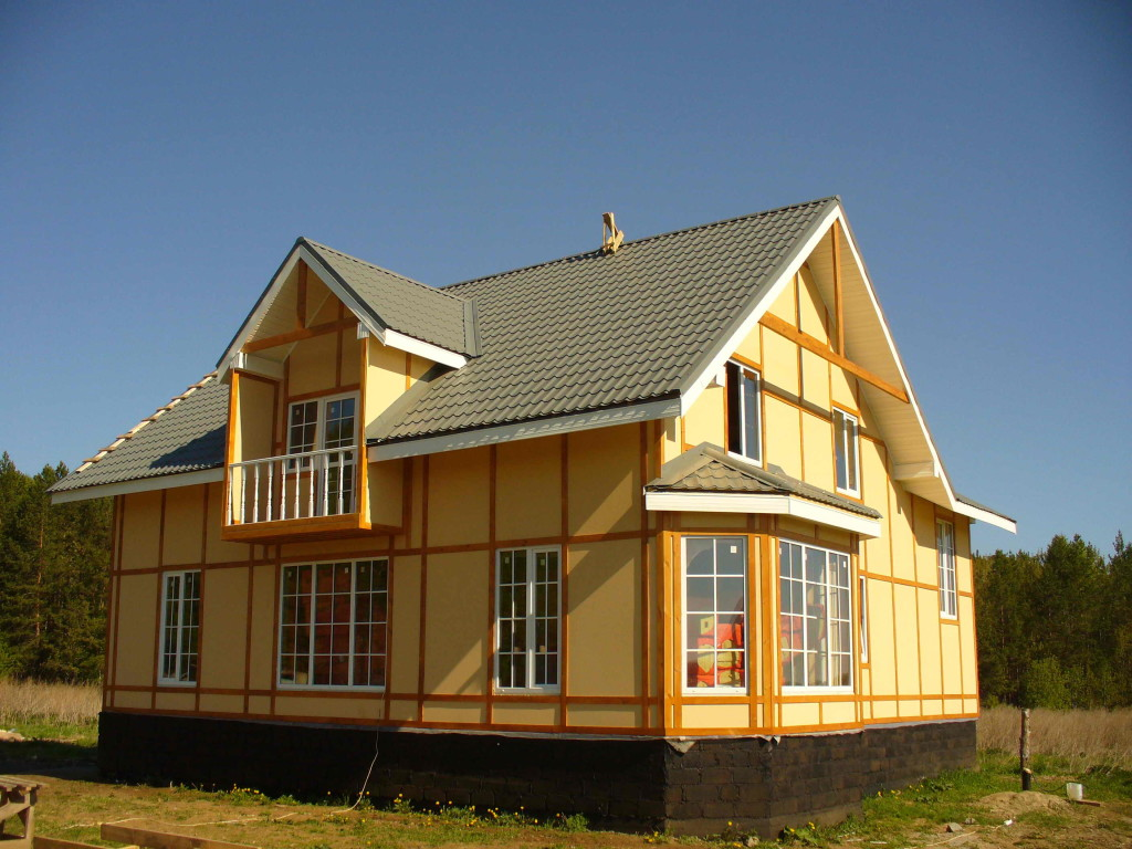 Каркасный дом, деревянный или кирпичный? Варианты на выбор