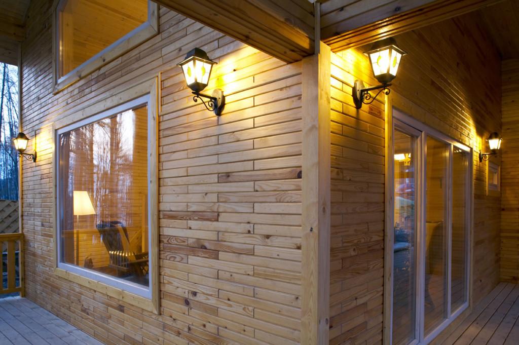 Деревянные кирпичи – отличный стеновой материал