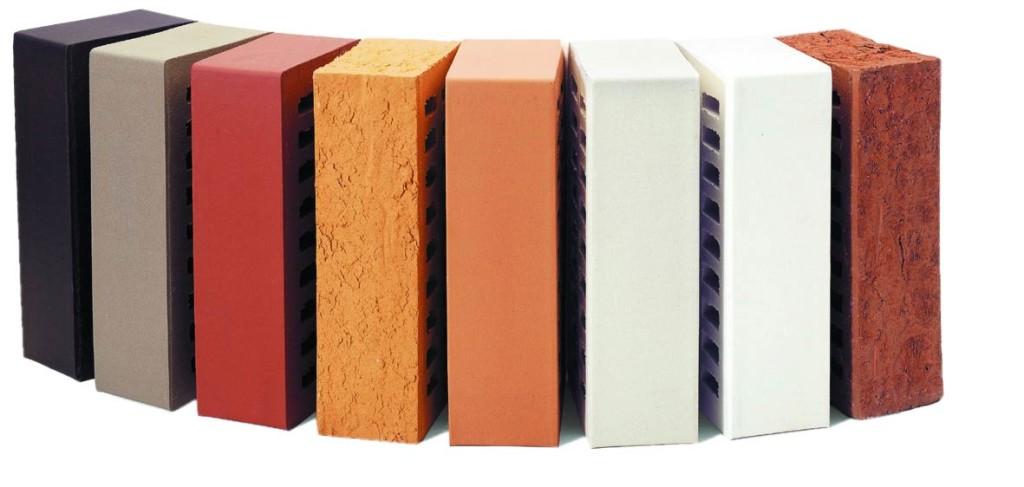 Разнообразие керамического кирпича