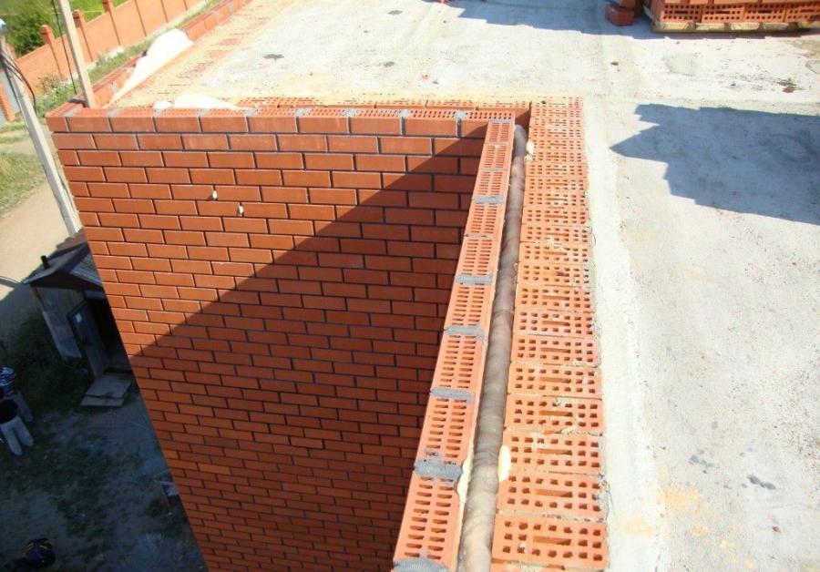 Стены из пустотной керамики