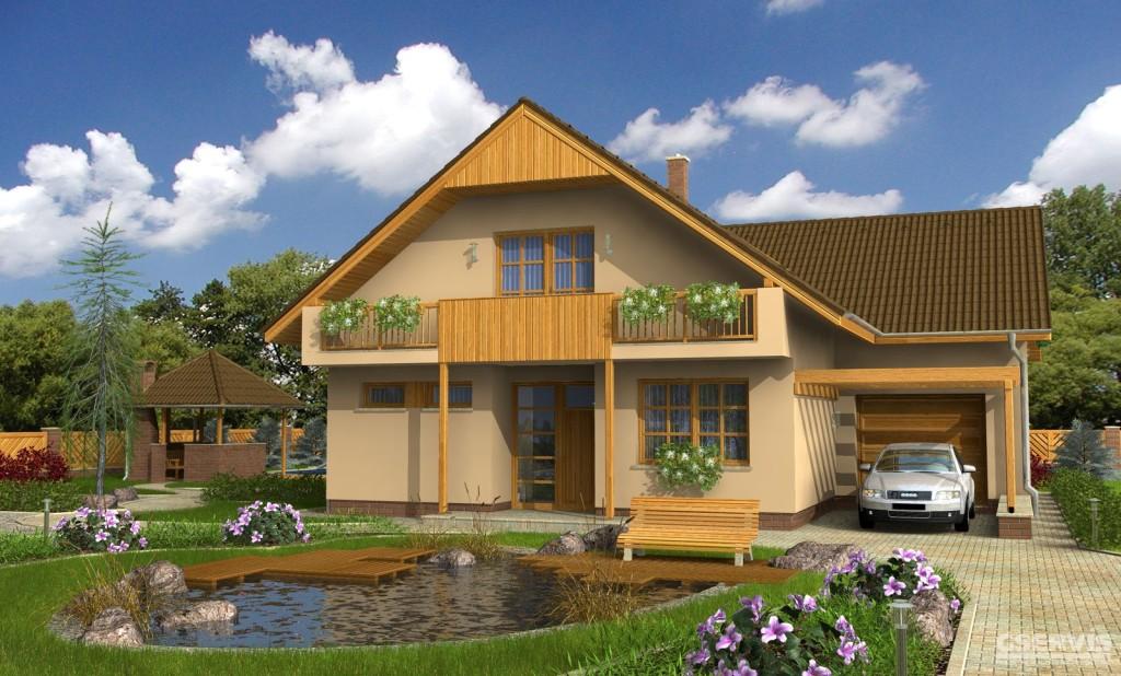 Финский кирпичный дом: проект