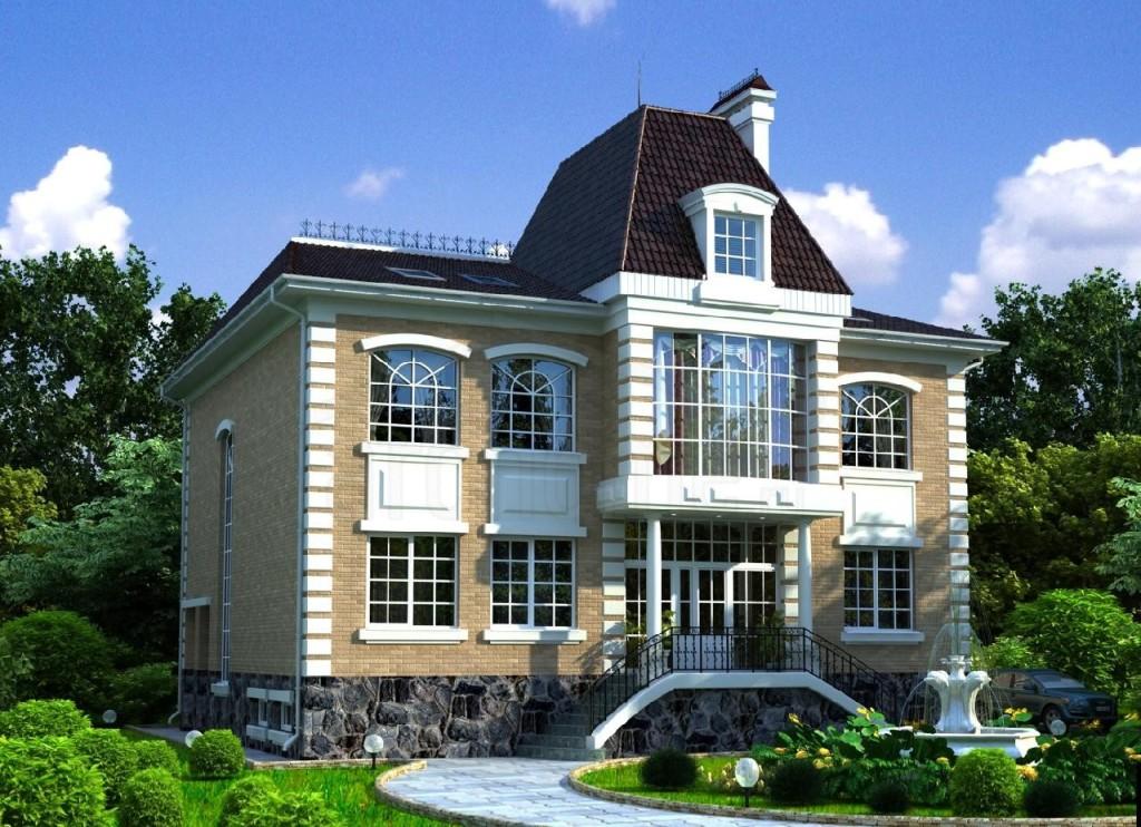 Кирпичный дом: чешский проект