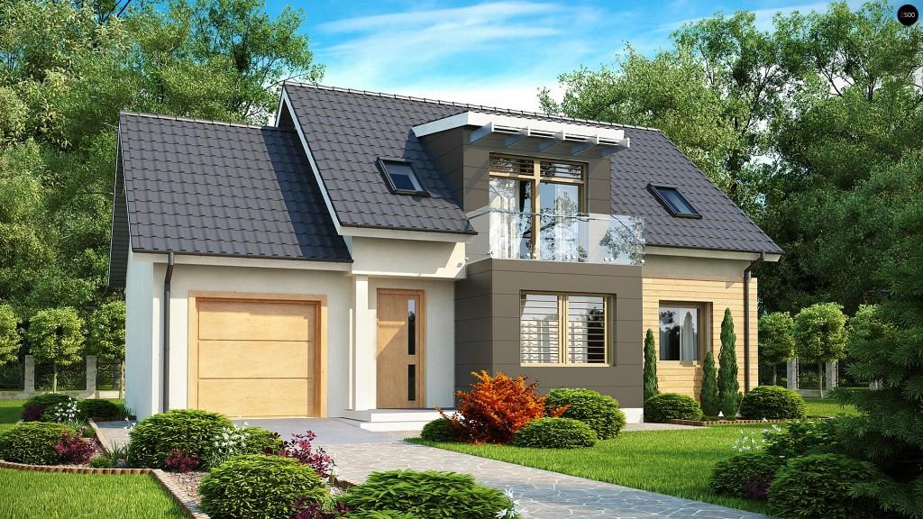 Проект кирпичного дома 3 комнаты