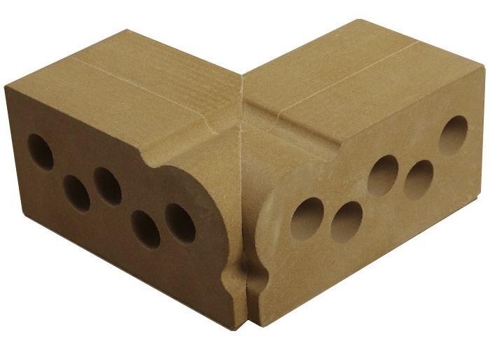 Элемент для отделки наружного угла: «внутренний фасонный карниз»