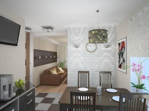 Имитация кирпичной стены на декоративной штукатурке