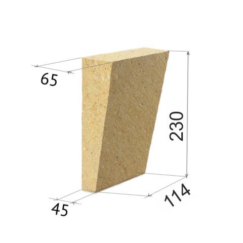 Форма и размеры клинового кирпича