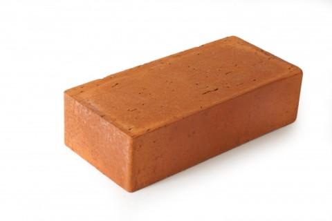 Полнотелый рядовой глиняный кирпич