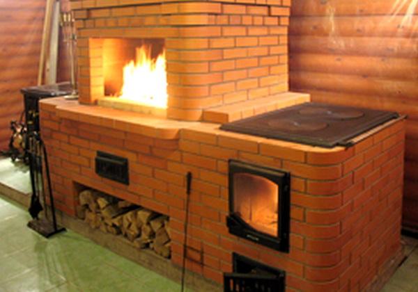 Печка для дачи из кирпича: фото, схемы, инструкция - Всаду. ру 89