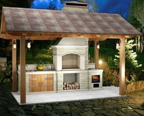Садовая печь для любого вида строения