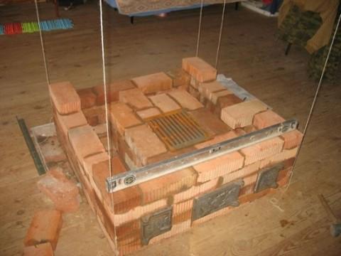 Установка поддувайла и колосников