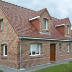 Дизайн облицовки дома в баварском стиле