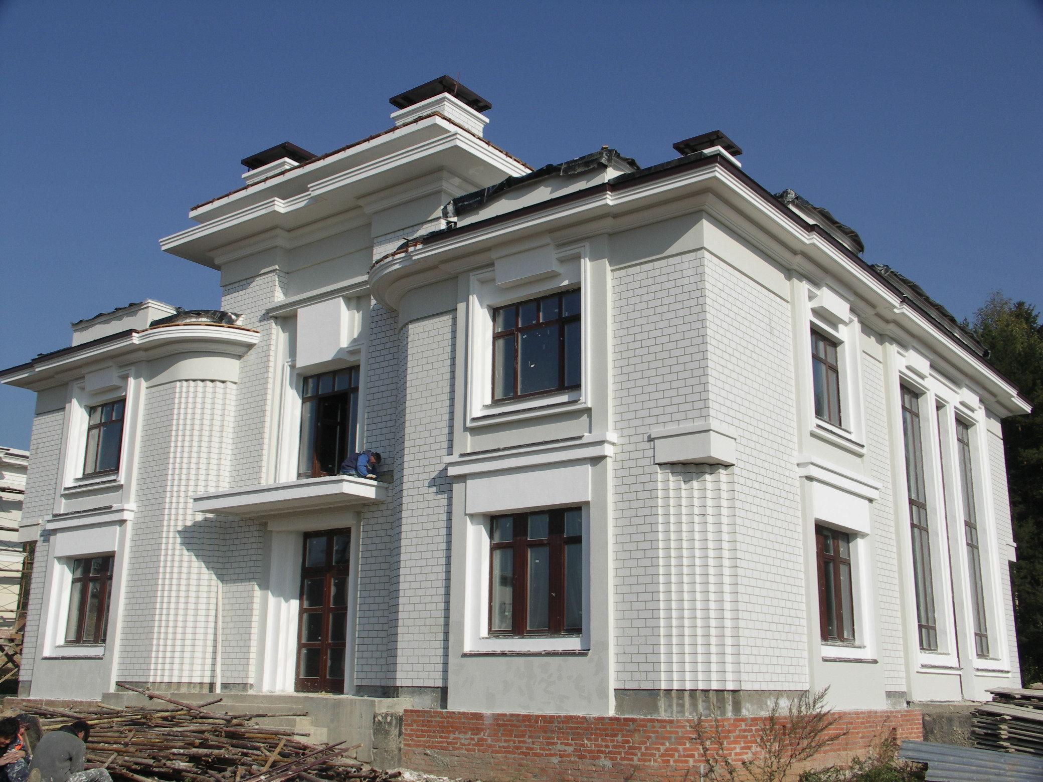 Утепление фасада из силикатного кирпича