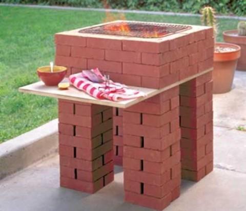 Как построить мангал из кирпича своими руками и при этом все учеть