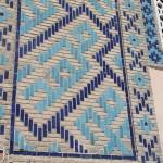 Отделка фасада кирпичом с выкладкой орнамента