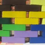 Силикатный кирпич с полимерно-порошковым покрытием