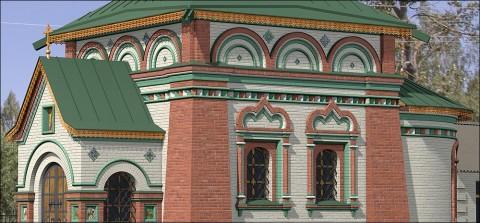 Храмы из кирпича стоят и сегодня