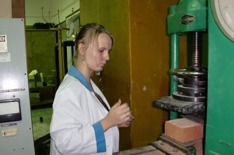 Лабораторные испытания керамического кирпича