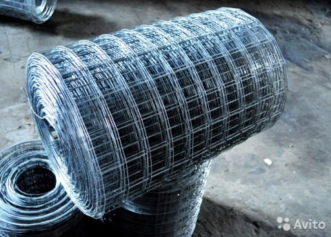 Кладочная металлическая сетка в рулонах