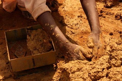 Натуральная глина для кирпича керамического