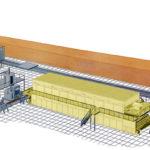 Общий вид мини-завода по изготовлению керамического кирпича