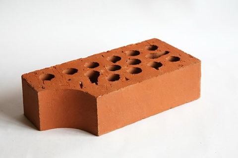 Профильный керамический кирпич