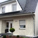 Дом, облицованный силикатным лицевым кирпичом