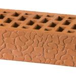Фактурный керамический облицовочный кирпич