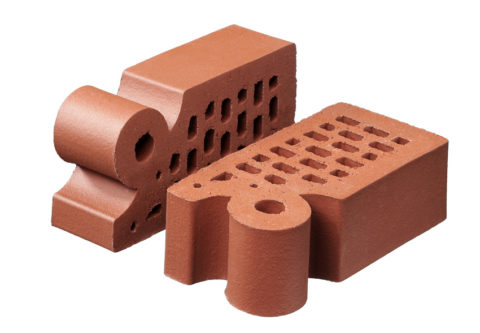 Фасонный керамический кирпич