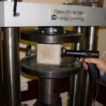 Испытание прочности изделий