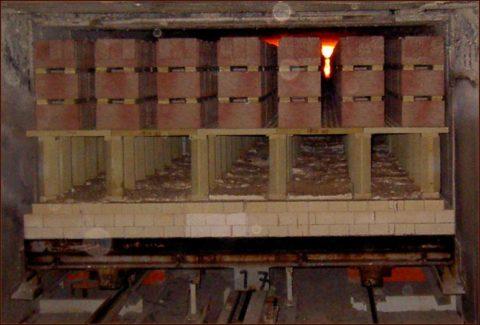 Печь для обжига керамического кирпича