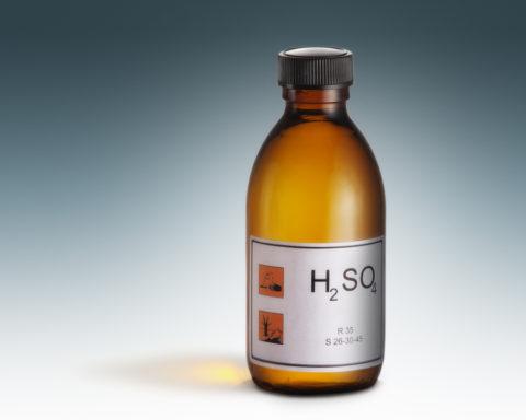 Серная кислота содержится в конденсате