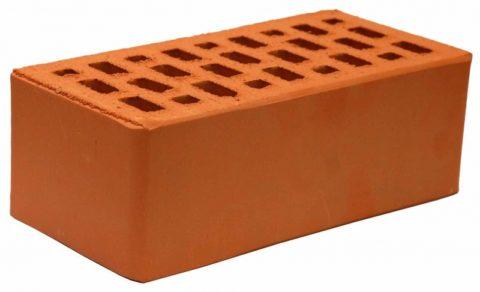 Утолщенный керамический кирпич