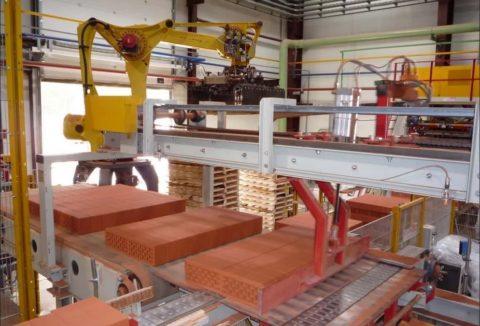 Завод по производству керамического кирпича