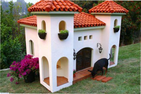 Маленький замок для маленькой «декорашки»