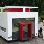 Оригинальный домик для собаки