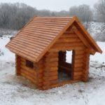 Великолепный рубленый домик