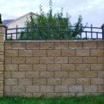 Забор из изделий Бессер