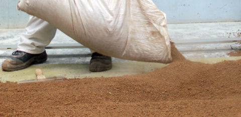 Песок керамзитовый