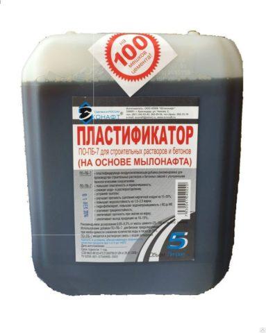 Пластификатор – добавка в смесь для кирпича