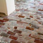 Что можно сделать из старого кирпича – великолепный пол!