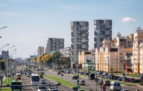 Из кирпича строят не только частные дома, но и многоэтажки