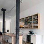 Классические колонны из металла – центр всего интерьера