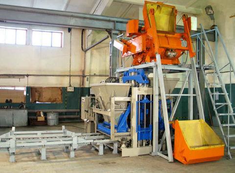 Мини-завод по производству кирпича керамического