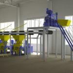 Оборудование для формования гиперпрессованного кирпича